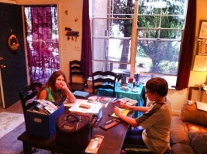 Screen Door and Making Cards 10.4.15