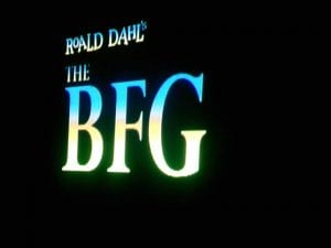 The BFG Movie 9.30.17