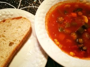 Tomato Vegetable Soup 9.28.17