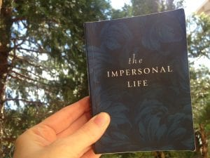 the Impersonal Life book 2017