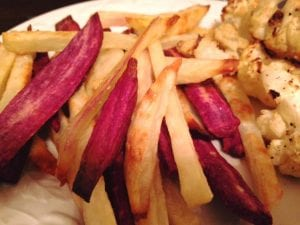 Purple French Fries 11.26.17