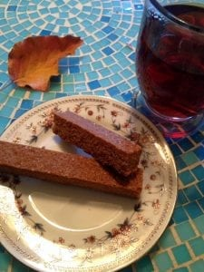 Tea and Gingerbread Cookie Stick 11.14.17