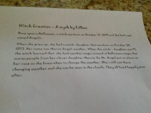 Witch Creation by Lillian 10.23.13