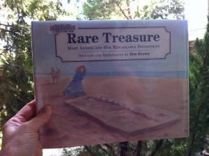 Rare Treasure Mary Anning Book 2017
