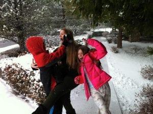 Team TLC in Snow 12.24.15 #2