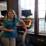 Lillian on Treadmill 1.4.18 #1