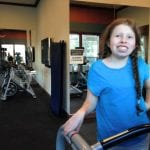 Lillian on Treadmill 1.4.18 #2