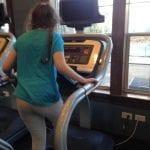 Lillian on Treadmill 1.4.18 #3