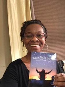 Carolyn Smith with Book Where Would You Fly 2.8.18