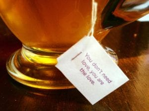 Yogi Tea Wisdom Love 2.16.18