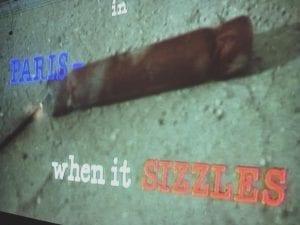 Paris when it Sizzles Movie 3.10.18
