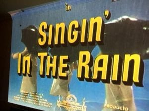 Singin' in the rain movie 3.3.18