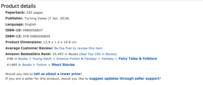 Top 50 in Fairy Tales & Folklore Amazon UK Where Would You Fly Book