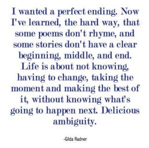 Gilda Radner Quote