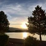 Sunset Walk with Lillian Vintage lake 5.3.18 #7