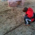 Sunset walk with Thomas 12.29.13 #4