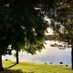 Sunset Walk Vintage Lake with Lillian 6.14.18 #3