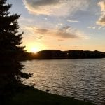 Sunset Walk with Thomas Vintage Lake 6.6.18 #5