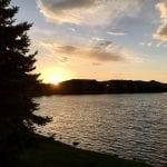 Sunset Walk with Thomas Vintage Lake 6.6.18 #5