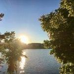 Sunset Walk with Thomas and Lillian Vintage Lake 6.27.18 #1