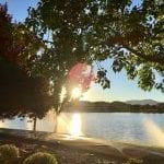 Sunset Walk with Thomas and Lillian Vintage Lake 6.27.18 #3