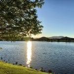 Sunset Walk with Thomas and Lillian Vintage Lake 6.27.18 #7
